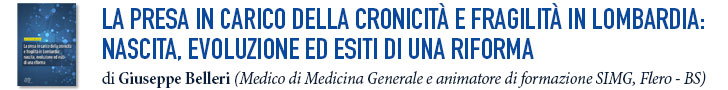 La presa in carico della cronicità e fragilità in Lombardia